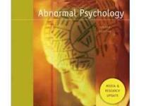 --Abnormal Psychology College Textbook by Susan