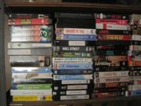 ABOUT 100 VHS TAPES. As I find more will list them
