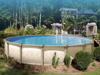 "Above Ground Swimming Pool- 24 foot round- 52"" Tall"