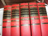 LINCOLN BOOKS  >PRAIRIE YEARS  > 5 BOOKS  >