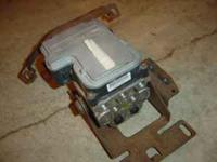 I HAVE THE COMPLETE ABS PUMP AND CONTROL UNIT OFF A