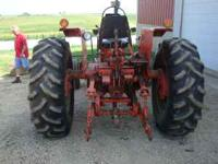 "1976 AC 185, 5900 hrs, 30"" rear tires 80% tread, front"
