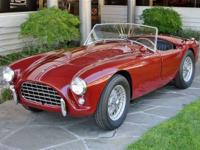 1958 AC Ace Roadster w- Bristol engine Chassis # AEX