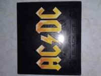 Brand new AC/DC Limited Edition Yellow Cover Black Ice