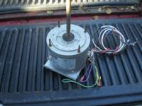 Used Fasco AC evaporator fan motor. Utilized just 1 and