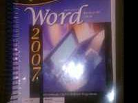 For Sale: AC textbook for Word Processing 2007 class