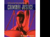ACC Criminal Justice Textbooks for sale.  A concise
