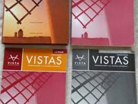 Vistas, 4th Edition. These books are great for all four