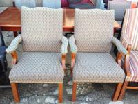 we have Traditional accent chairs $200 for pair. feel