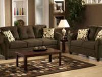 Microfiber Sofa and Love Seat Set 980 series. Features