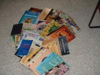 Over 40 guitar related books. 2 music