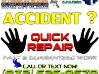 When you have an accident ... Contact SPEED COLLISION
