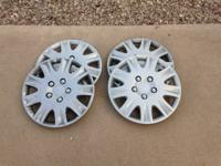 four 03-07 stock five lug accord wheels with brand new