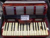 We have a couple of accordions for sale!  1. 129.95 in