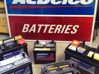 ACDELCO BATTERIES. AUTOMOTIVE, MARINE, AND Recreational