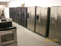 NEED A SIDE BY SIDE REFRIGERATORS WE GOT ALL MAKES,