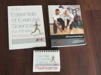 Included is the ACE Personal Trainer Manual, ACE'S