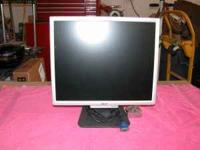 "I have this 19"" flat panel monitor. We can hook this up"
