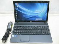 This Acer Aspire 5733Z-4851 Windows 7 professional,