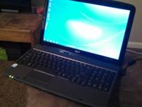I am selling my Acer Aspire 5735Z Laptop, it has a 16in