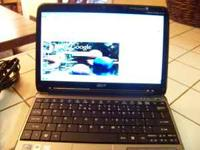 I have a like new Acer Asprie One Netbook with a 11.6