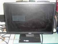Acer Flat Screen Computer Monitor is in excellent
