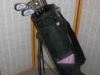 Set of Acer Irons, numbers 4,5,6,7,8,9, sandwedge, and
