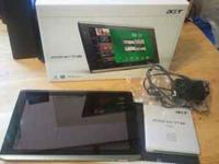 I have an Acer iconia Tablet 16 gb for sale. I have had