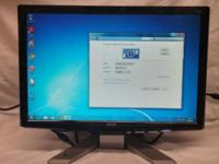 """Acer P191w 2 of 2 -19"""" @ 1400x900 -75Hz Refresh rate"""