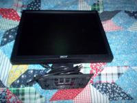 acer v173  flat panel 17 inch monitor