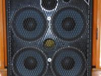 Acme Sound B-4 Low B Series II Bass Guitar 410 Speaker