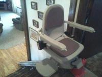 Really a little made use of Acorn stair lift. Has two