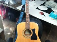 Decent playing used Ibanez acoustic guitar.