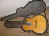 I have two guitars for sale the first is an