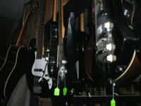 Huge Selection of Guitars and Bass Guitars!!! 50 in