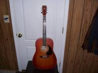 """Art & Luthier"" electric/acoustic guitar. Cedar Model."