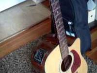New Ibanez acoustic/electric. I have only played it a