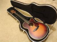 Takamine Acoustic/Electric T series. The guitar has