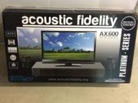 Brand name New Acoustic Fidelity AX.600 High Definition