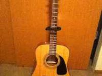 Brand new acoustic Fender guitar. Bought it at Ted