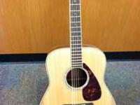 YAMAHA ACOUSTIC GUITAR MODEL FG730S GREAT CONDITION