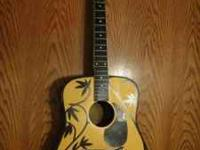 i have this acoustic guitar for sale. I dont ever have