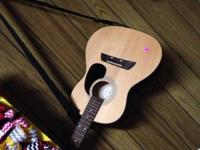 Acoustic guitar great shape like new need gone 25.00