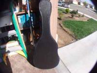 ALL BLACK ACOUSTIC GUITAR CASE, I HAVE TWO OF THEM, HIT