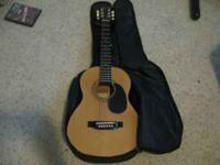 This is a Acoustic guitar is missing the High e string