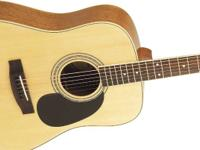 The Mitchell MD100S is a full-sized dreadnought guitar