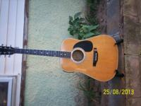 Estaban acoustic / electric guitar.. battery cover is