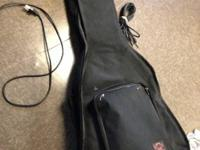 Sturdy cloth guitar case for full sized acoustic