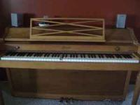 1961 Bladwin Acrosonic Piano Serial number 720689.