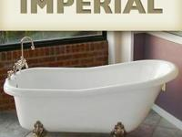 Acrylic Slipper Style Clawfoot Bathtub by Restoria